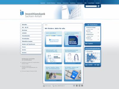 Menu: Investitionsbank Sachsen-Anhalt