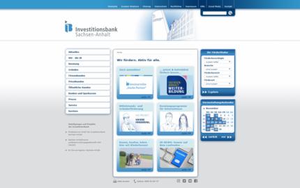 Fördermöglichkeiten des Landes bei der Investitionsbank Sachsen-Anhalt