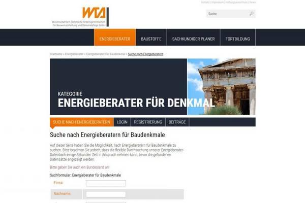 Energieberater für Baudenkmale