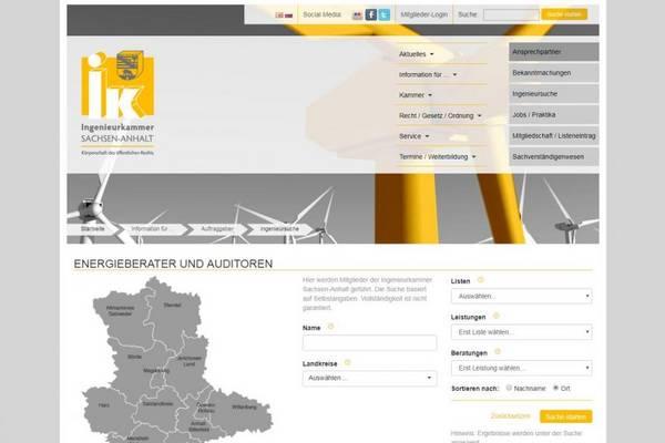 Ingenieurkammer Sachsen-Anhalt (Fachingenieure Energie)